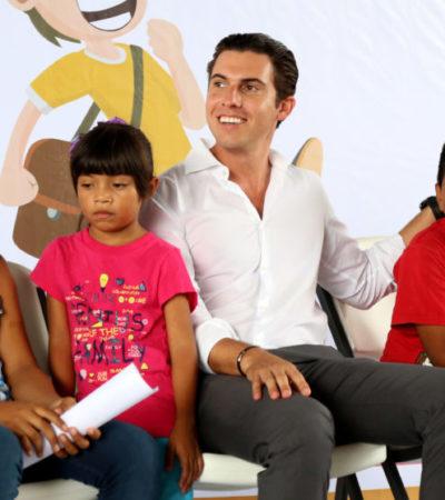 Reitera comuna compromiso con el derecho de los niños a una vida sin violencia