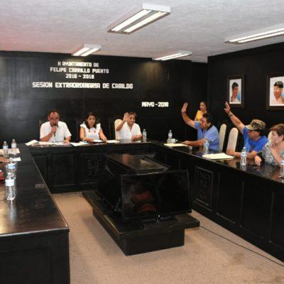 Pide licencia Paoly Perera a la presidencia municipal de FCP para buscar la reelección