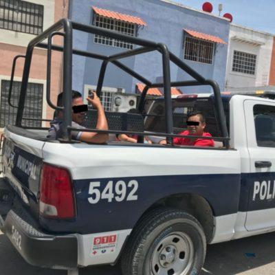 Sorprenden a ladrones cuando robaban en casa de periodista