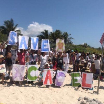 Sigue en pie la defensa de Xcacel-Xcacelito ante proyecto hotelero en santuario de la tortuga marina