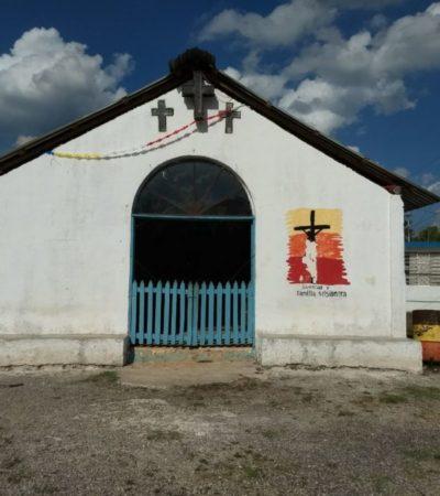 Viven con fervor la fiesta de la Santa Cruz en Felipe Carrillo Puerto