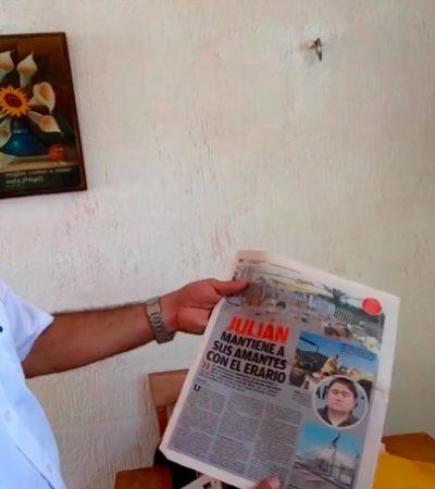 """""""MIRA, ESTO ES LO QUE HACÍAN LOS MILLAR"""": Rememora Julián Ricalde los días de la 'guerra sucia' durante el borgismo"""