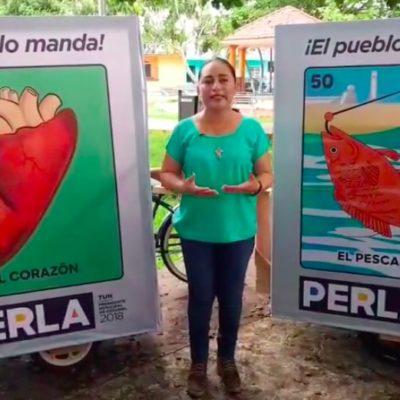 Inicia Perla Tun campaña por la reelección en Cozumel dobleteando como Alcaldesa y desde las redes sociales