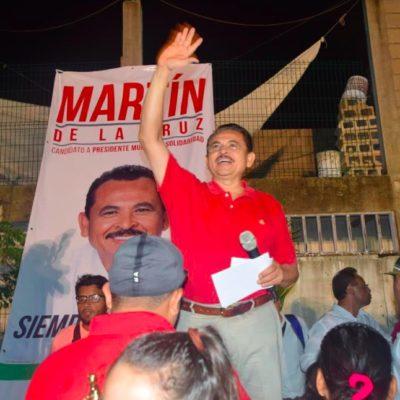 PUERTO AVENTURAS MERECE SER ALCALDÍA: Martín de la Cruz ofrece darle seguimiento a una añeja demanda ciudadana frenada, dice, por falta de voluntad