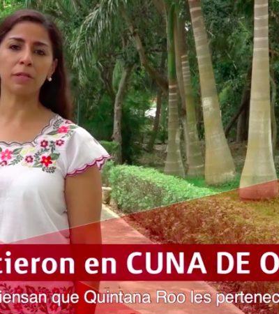 """PIENSAN QUE QUINTANA ROO LES PERTENECE"": Difunde candidata de Morena al Senado video contra la familia Joaquín"