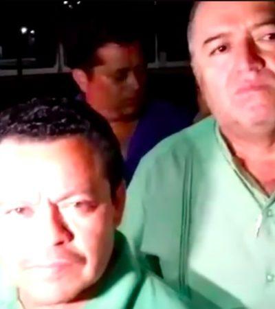 ACUERDAN TAXISTAS SUSPENDER PROTESTAS: Tras reunión con el Gobernador, líderes sindicales dicen que se revisará la Ley de Movilidad con la posibilidad de modificarla
