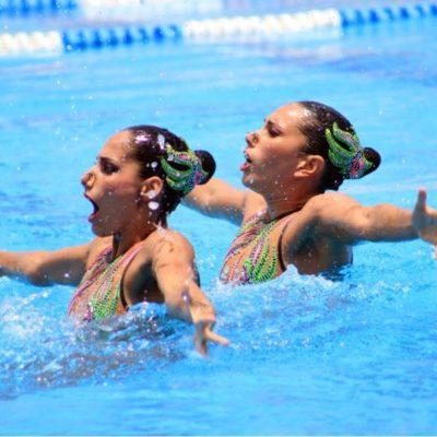 Las sirenas de nado sincronizado de la Selección Nacional Junior estarán en Cancún junto con 200 atletas de 11 países