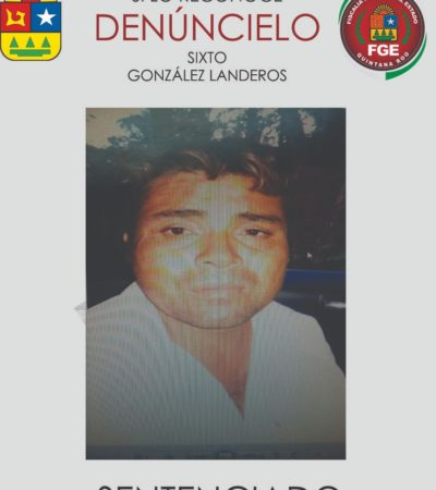 SEGUNDA SENTENCIA POR FEMINICIDIO EN SOLIDARIDAD: Dan 37 años de cárcel al violador y asesino de una menor de 14 años en agosto del 2017 en Playa del Carmen