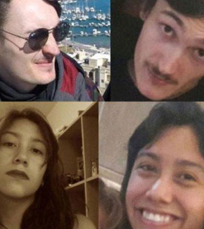 Desaparecidos dos turistas en playa nudista de Oaxaca