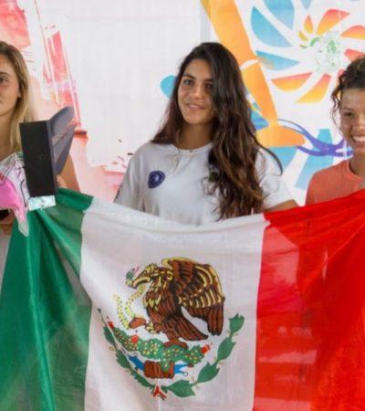 Tablaveleristas de Quintana Roo se proclaman 'campeones en su propia tierra'