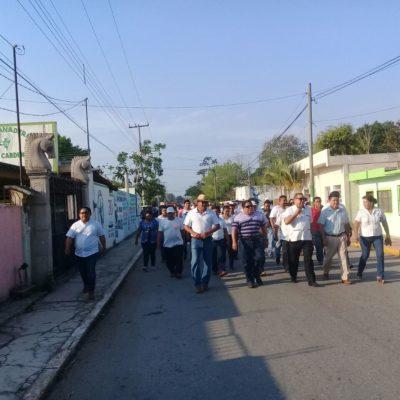 Protestan tricicleros en Kantunilkín