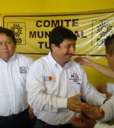Hoy iniciamos la más grande transformación de Tulum, dice Víctor Mas al arrancar campaña