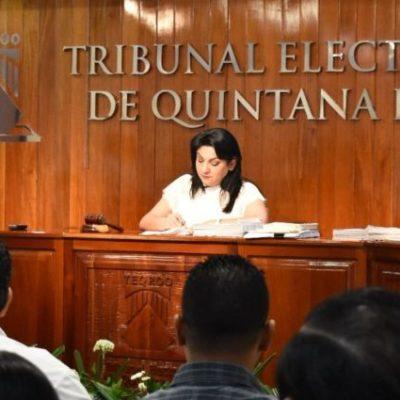 Por segunda ocasión, el Teqroo falla a favor de Cristina Torres Gómez y declara inexistentes los señalamientos interpuestos por Morena en contra de la candidata, a quien acusaron de realizar actos anticipados de campaña