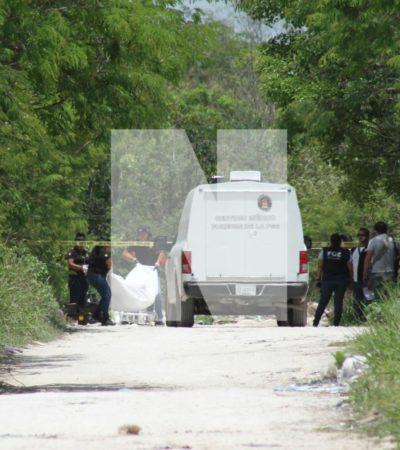 Hallan restos humanos en la colonia irregular 'La Unión', el primer caso de mayo en Cancún