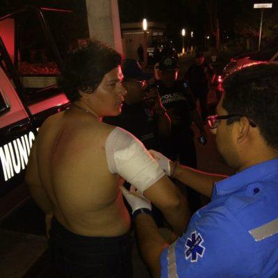 Asaltantes con machete agreden y roban a bañistas de Playa del Carmen