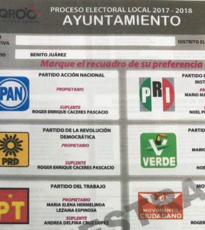 """'ALBAZO' DEL IEQROO CONTRA 'CHANITO': Adelantarán impresión de boletas sin su nombre pese a litigio pendiente; """"nos tienen tanto miedo (…) 'Mara', la candidata de Félix"""", dice Toledo Medina"""
