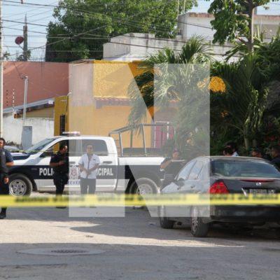 Balean a un hombre en la Región 96 de Cancún y se va en taxi al hospital