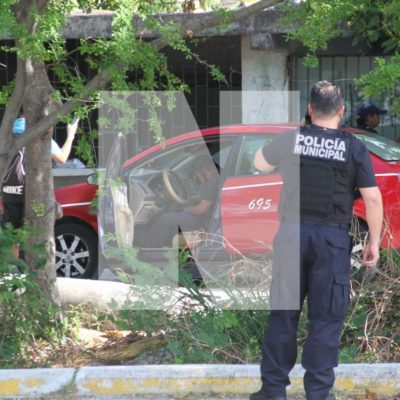 EJECUTAN A TAXISTA DE IM EN CANCÚN: Persiguen y balean a conductor del servicio público sobre la Avenida 20 de Noviembre