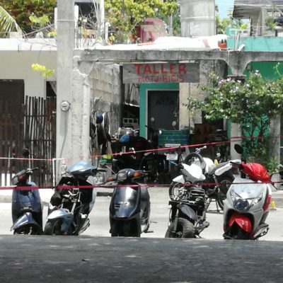 INTENTO DE EJECUCIÓN EN COZUMEL: Grave, un hombre baleado en la colonia San Miguel I