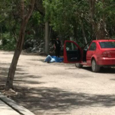 EJECUCIÓN DOBLE EN PUERTO AVENTURAS: Presunta riña en zona de invasión desemboca en balacera con saldo de dos muertos