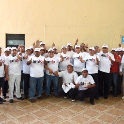 Se unen taxistas a proyecto de Morena con José Luis Pech