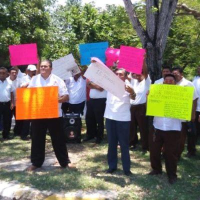 Ante manifestación de taxistas, el Teqroo elimina de su agenda las demandas que interpusieron por consulta pública de Uber