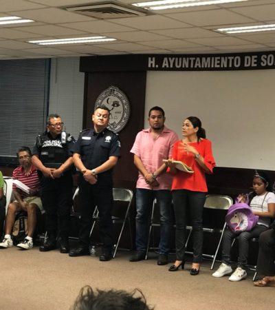 Se reúne Alcaldesa como presidentes de comités vecinales en Playa del Carmen