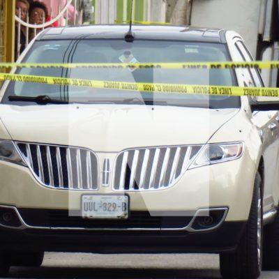 ACRIBILLADO EN CAMIONETA DE LUJO EN LA REGIÓN 219: Matan a un hombre de al menos 7 disparos en la Avenida Talleres de Cancún