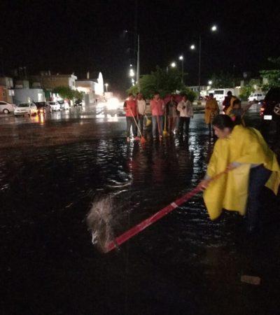 Refuerza Solidaridad brigadas de atención ante lluvia atípica
