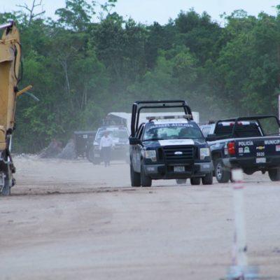 DOBLE EJECUCIÓN EN OBRA EN LA REGIÓN 249: Matan a balazos a dos trabajadores en el fraccionamiento 'Cielo Nuevo' de Cancún y constructora trata de ocultar crimen