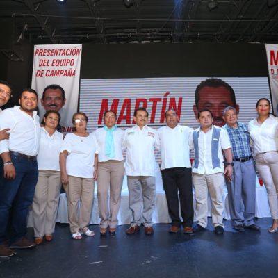 Martín de la Cruz inicia campaña con un homenaje a Colosio y la presentación de una plataforma política para resolver problemas de Solidaridad