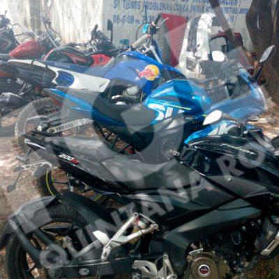 Recuperan 5 motos con reportes de robo en Cancún