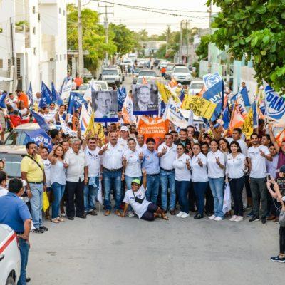 Pide Víctor Mas a ciudadanos no temer amenazas de la administración priista y salir a votar por el cambio en Tulum