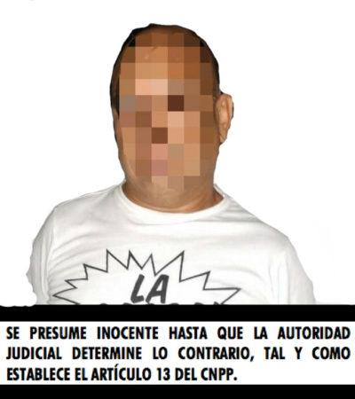Detienen a un hombre con 'crack' en Playa del Carmen