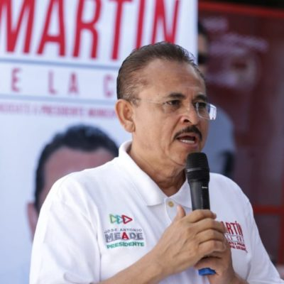Acusa Martín de la Cruz a candidato o candidata, de repartir despensas y dinero del pueblo en su campaña en Solidaridad