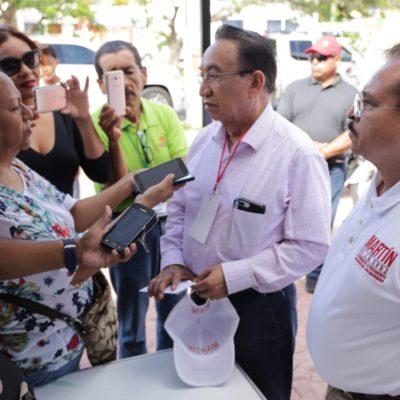 Organiza Martín de la Cruz consulta ciudadana con más de 800 voluntarios para escuchar de primera mano cuáles son los problemas de la gente en Solidaridad