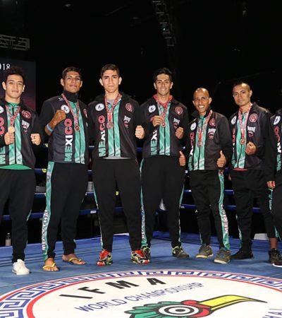 Se despide México del Mundial de Muaythai con 10 medallas