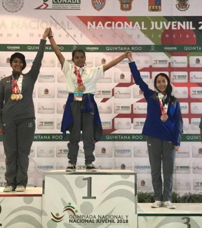 Quintana Roo, en el Top Ten nacional del medallero de la Olimpiada Nacional y Campeonato Nacional Juvenil 2018