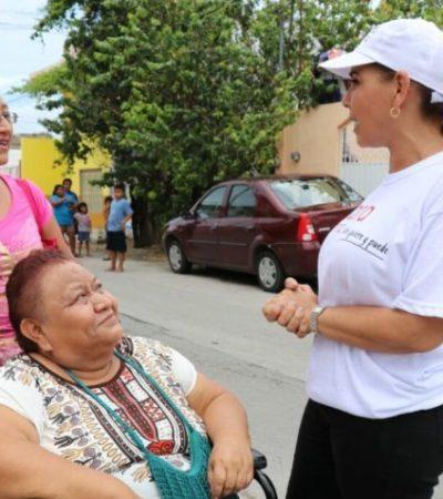 Se compromete Mara Lezama a gestionar escuelas de tiempo completo y guarderías para madres trabajadoras de Cancún