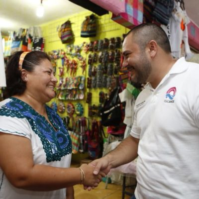 Plantea Janix acabar con la corrupción para mejorar la obra pública de Cancún
