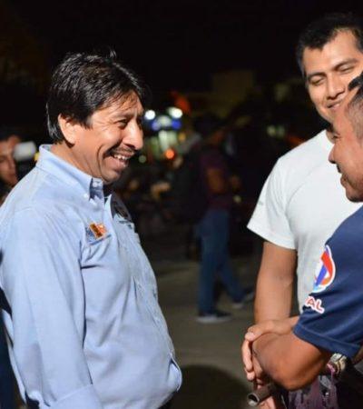 Se compromete Víctor Mas a construir un Hospital General en Tulum, si gana