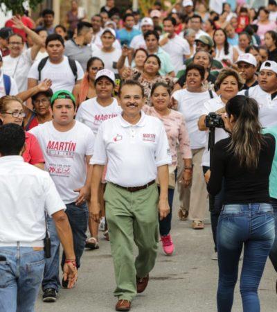 Tras consulta con 51,410 ciudadanos en Solidaridad, Martín de la Cruz dice que pudo constatar la falta de atención que ha sufrido la comunidad durante la actual administración