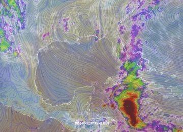 MONITOREO EN EL CARIBE: Inestabilidad atmosférica mantiene pronóstico de lluvias para los próximos días en buena parte de la península de Yucatán