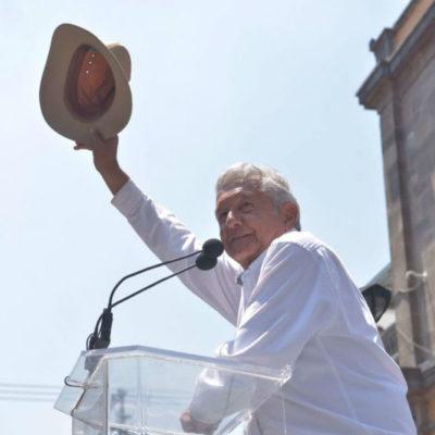 """""""Todo aquello que perjudique el interés nacional se va a anular"""", responde AMLO a Cuauhtémoc Cárdenas Solórzano, que pidió la revocación de la Reforma Energética"""