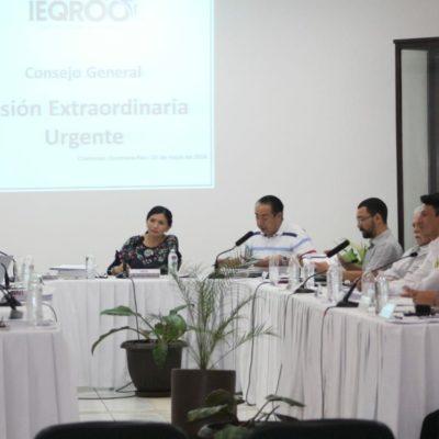 POSPONEN UNA VEZ MÁS IMPRESIÓN DE BOLETAS ELECTORALES: Da Ieqroo nuevo plazo a partidos para registrar candidatos sustitutos de 'Chanito' Toledo y Mario Machuca en BJ
