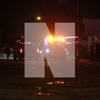 RAFAGUEAN VIVIENDA EN LA REGIÓN 201: Un hombre herido por ataque a balazos de solitario sicario en Cancún