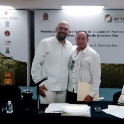 Nombran a Ludwig Cárdenas Lugo coordinador de Contralores de la Zona Norte de la Comisión Permanente de Contralores Estado de Quintana Roo