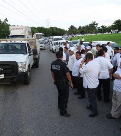 Confirma Carlos Joaquín, los acuerdos alcanzados con integrantes del Frente Único de Trabajadores del Volante