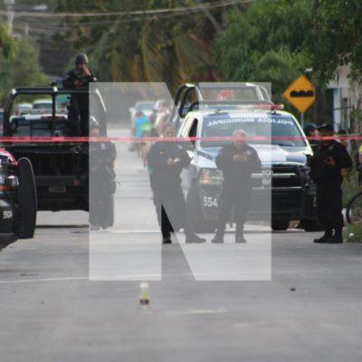 ATAQUE A BALAZOS EN LA REGIÓN 221: Una persona ejecutada y otra herida afuera de una escuela en Cancún