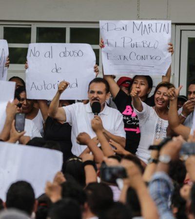 """""""TENEMOS QUE CONFIAR EN LA JUSTICIA, PERO PONER EN EVIDENCIA A LOS FUNCIONARIOS QUE HACEN MAL SU TRABAJO"""": Interpone Martín de la Cruz denuncia por allanamiento de morada"""